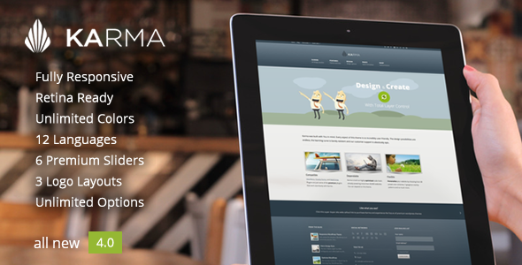 Karma - Responsive WordPress Theme - Corporate WordPress