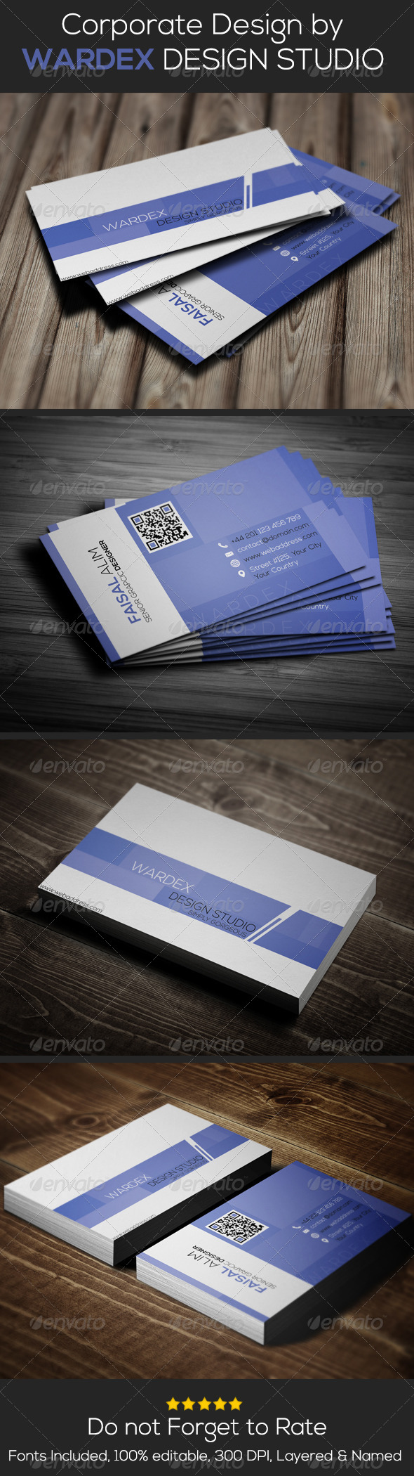 GraphicRiver Corporate & Pro Business Card Design 6621735