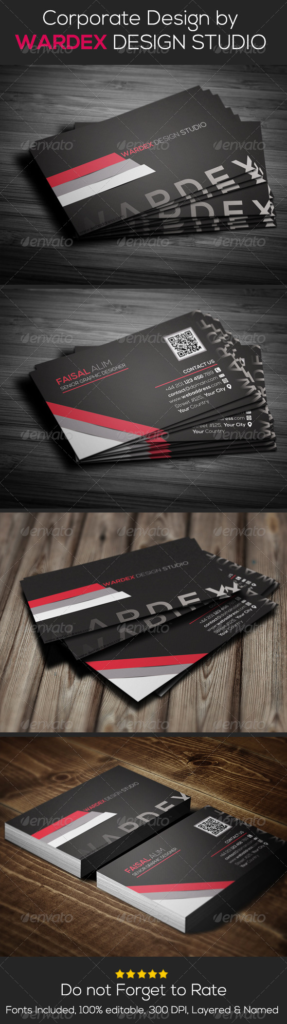 GraphicRiver Corporate & Pro Business Card Dersign 6621812