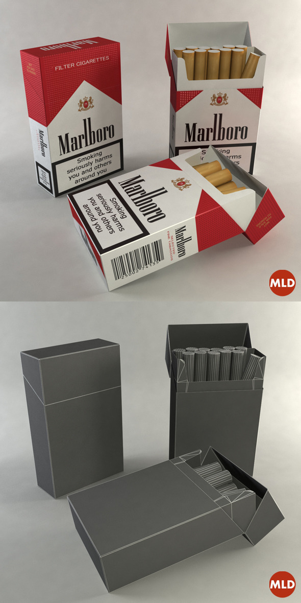 3DOcean Box Cigarettes 6621819