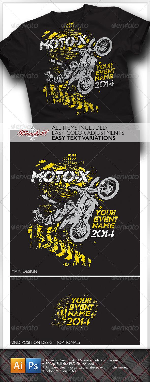GraphicRiver Moto X Team T-Shirt Template 6622845