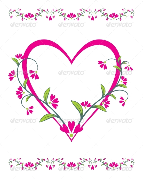 GraphicRiver Beautiful Abstract Illustration for Valentine s Day 6622954