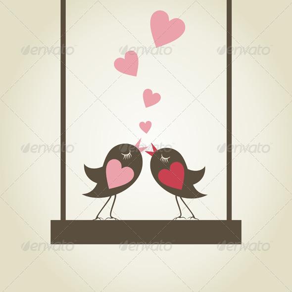 GraphicRiver Bird of Love 9 6622963