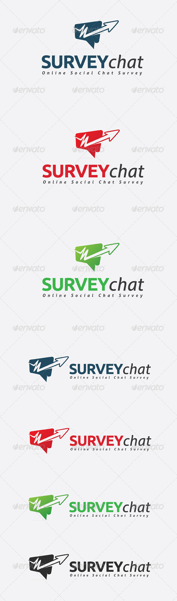 GraphicRiver Survey Chat Logo 6623214