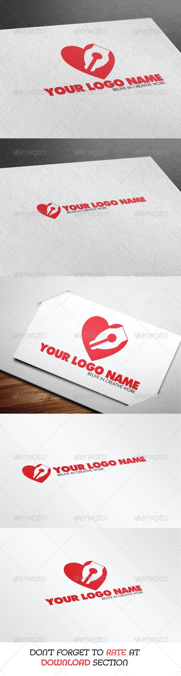 GraphicRiver Lovely Design Logo 6623279