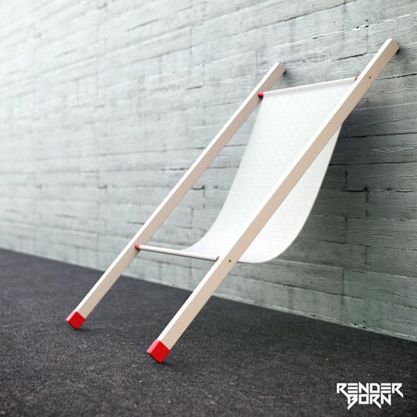 3DOcean Wall Chair 6623291