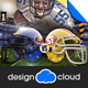 Football Playoff Flyer - GraphicRiver Item for Sale