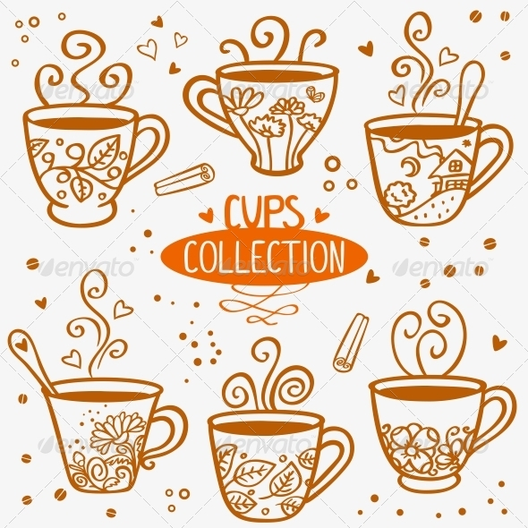 GraphicRiver Cups Collection 6623408