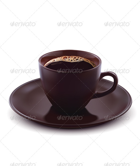 GraphicRiver Cup of Coffee Isolated 6623548