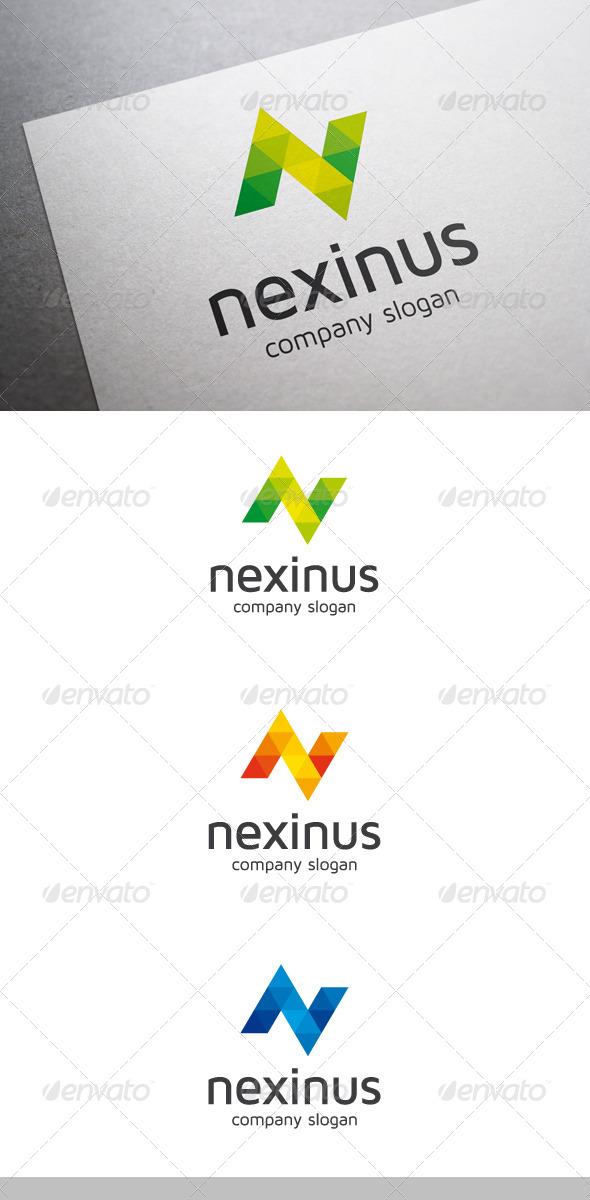 GraphicRiver Nexinus N Letter Logo 6623740