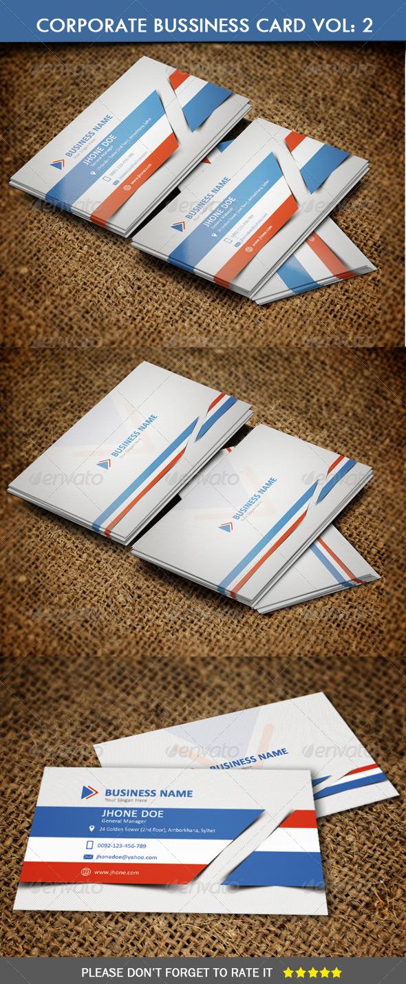 GraphicRiver Corporate Business Card Vol 2 6623795