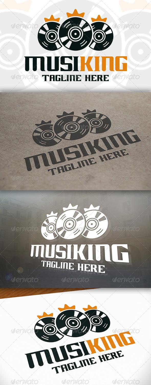 GraphicRiver Music King Logo 6623916