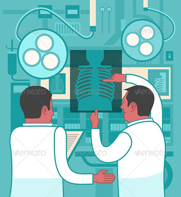 GraphicRiver Collaboration In Medicine 6623995