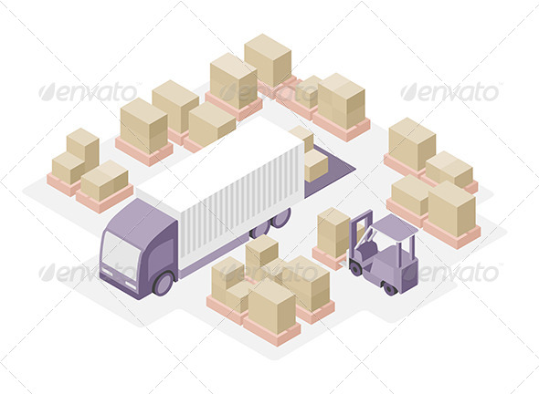 GraphicRiver Warehouse Distribution Center 6624011