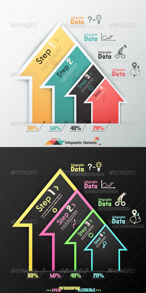 GraphicRiver Modern Infographics Options Banner Two Versions 6624223