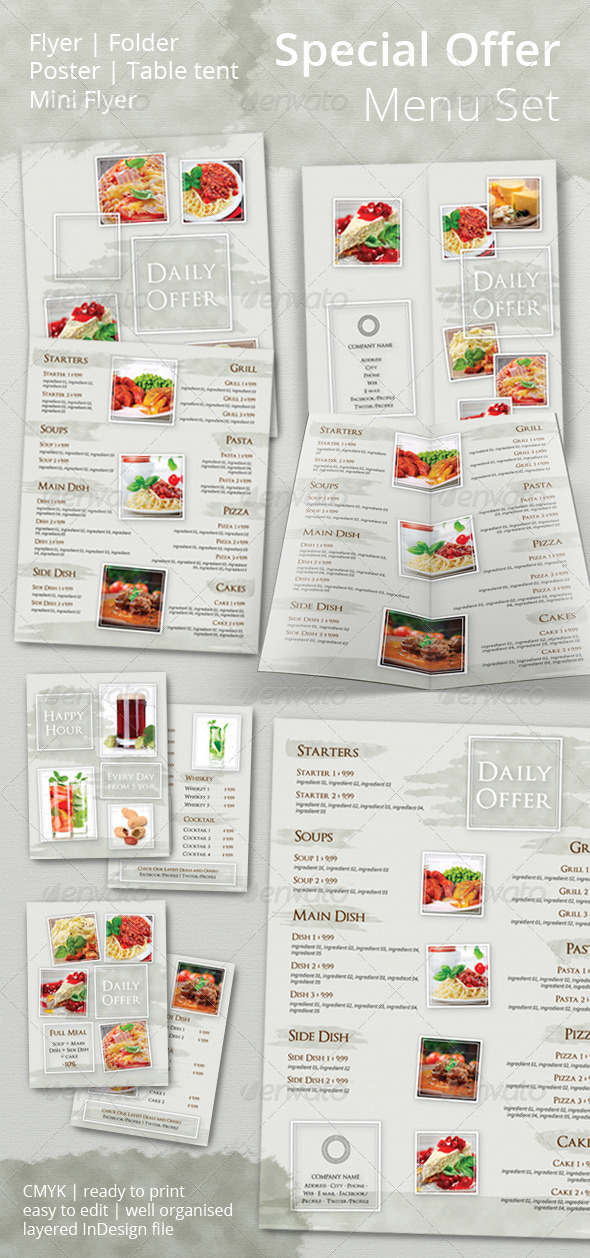 GraphicRiver Special Offer Promotional Set 6624473