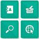 30 Square Web Icons