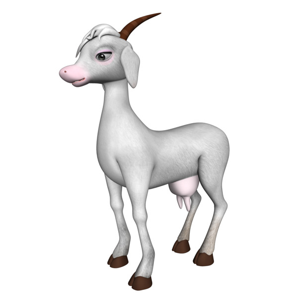 3DOcean Princess Goat 6625795