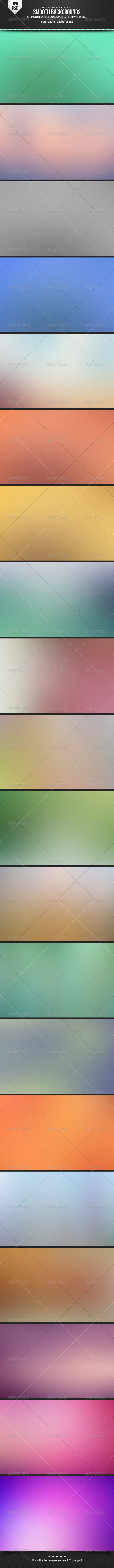GraphicRiver Smooth Backgrounds 6626414