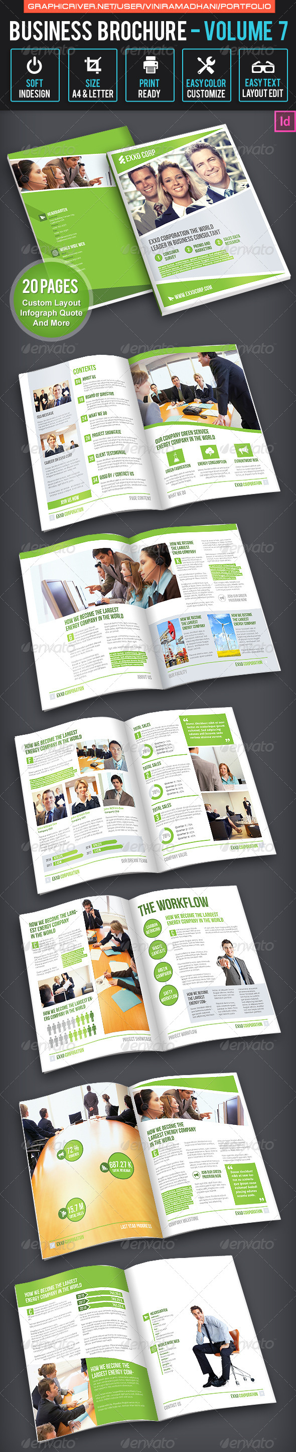 GraphicRiver Business Brochure Volume 7 6627602
