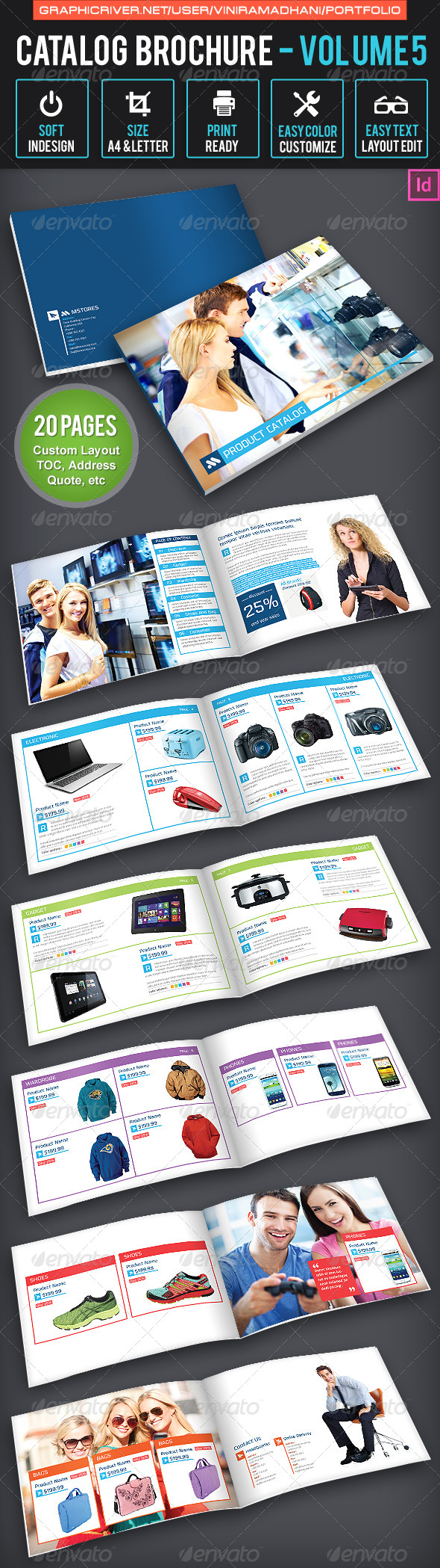 GraphicRiver Product Catalogs Brochure 6627643