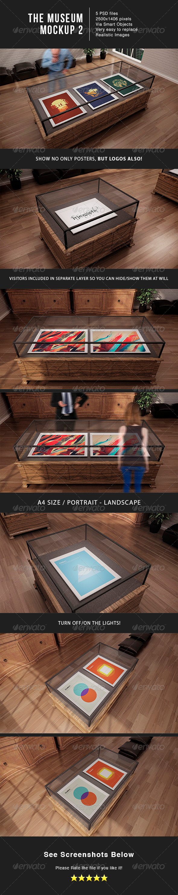 GraphicRiver The Museum MockUp 6627861