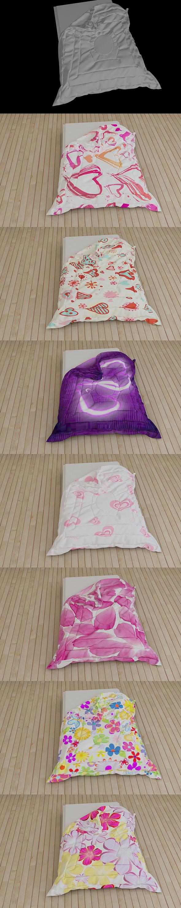 3DOcean Comforter 6629377