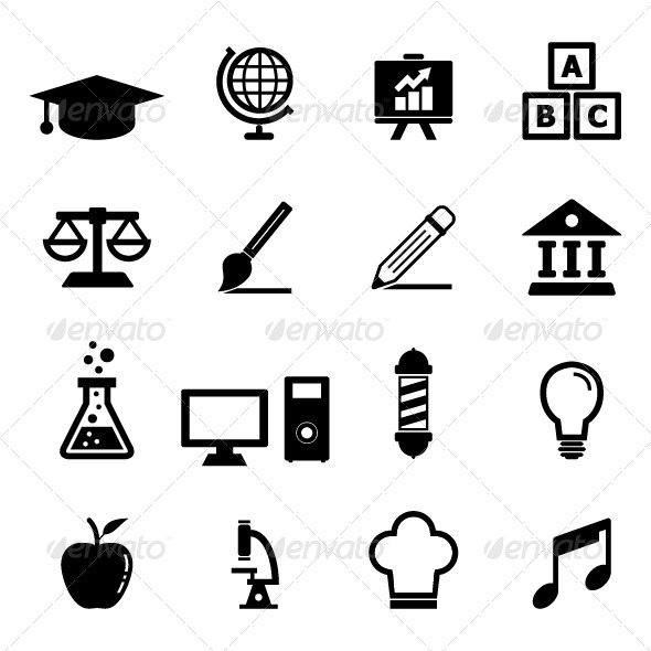 GraphicRiver Education Icon 6629381