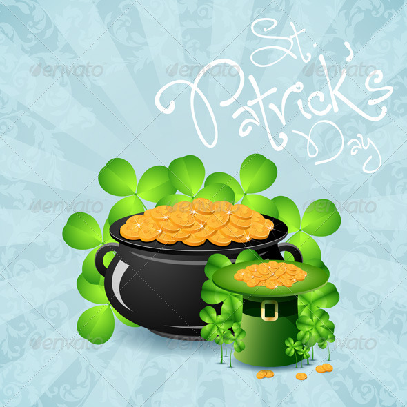 GraphicRiver St Patricks Day Background 6629520