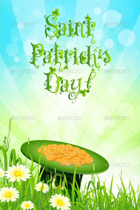GraphicRiver Saint Patricks Day Background 6629917
