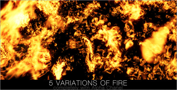 VideoHive Fire Pack 1 6630033
