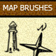Custom Map Brushes - GraphicRiver Item for Sale