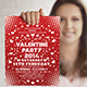 Valentine's Party Flyer  - GraphicRiver Item for Sale