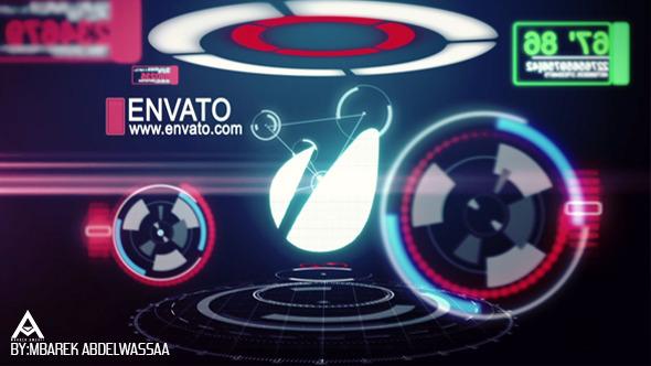 Hi-tech Spin Logo Reveal