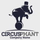 Circus Phant Logo Template - GraphicRiver Item for Sale