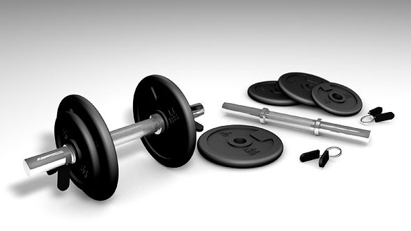 3DOcean Weight Set and Render Setup 695883