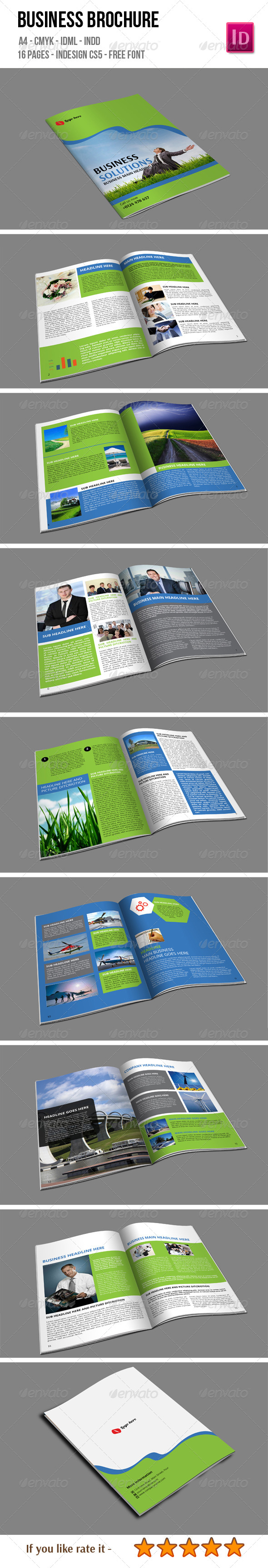 GraphicRiver 16 Pages Business Brochure 6632430