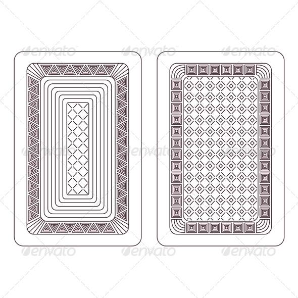 GraphicRiver Ornament for Playing Cards 6632855