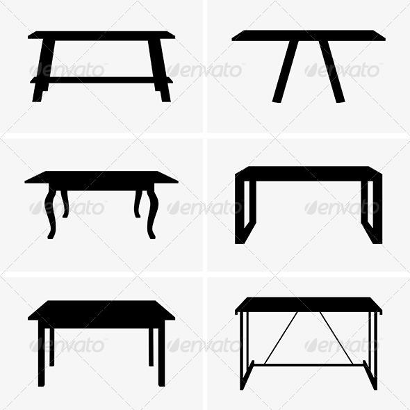 GraphicRiver Tables 6632962