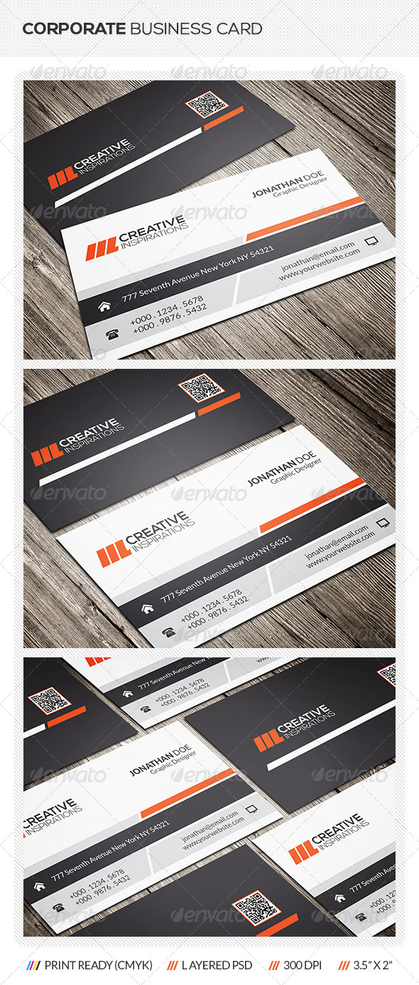 GraphicRiver Creative Corporate Business Card 6633997