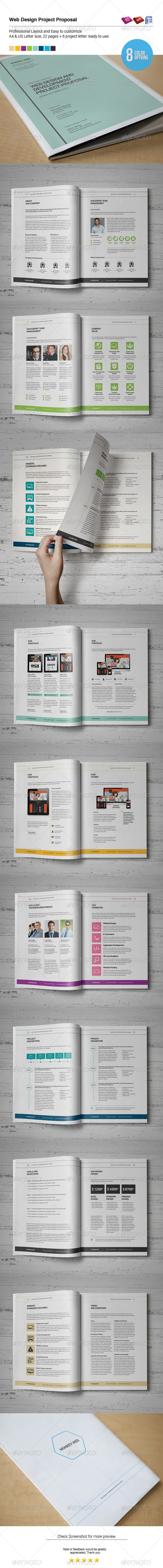 GraphicRiver Web Design Proposal 6634012