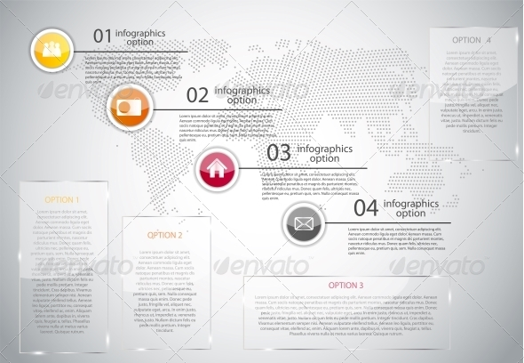 GraphicRiver Infographic Business Template Vector Illustration 6634087