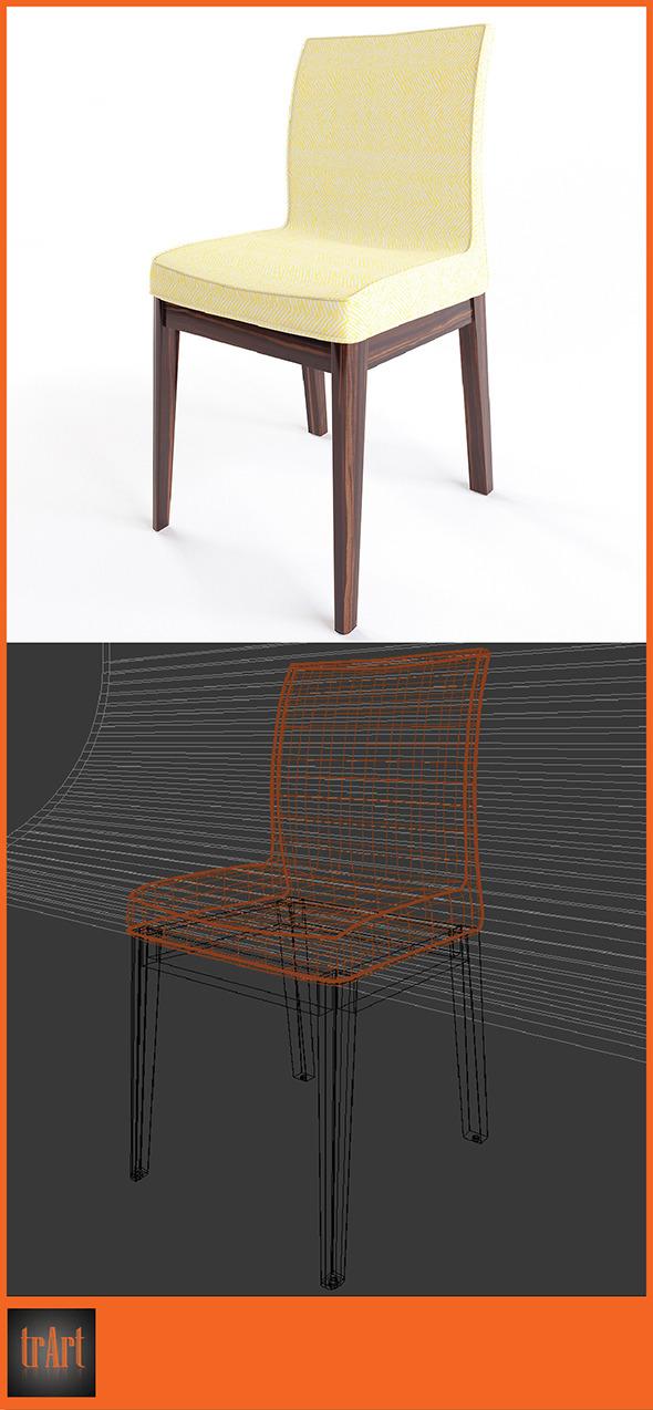 3DOcean Realistic Armchair 6634165
