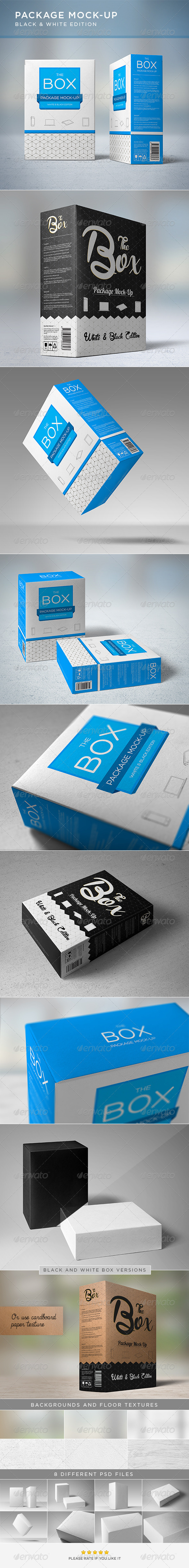 GraphicRiver Package Mock-Up 6634298