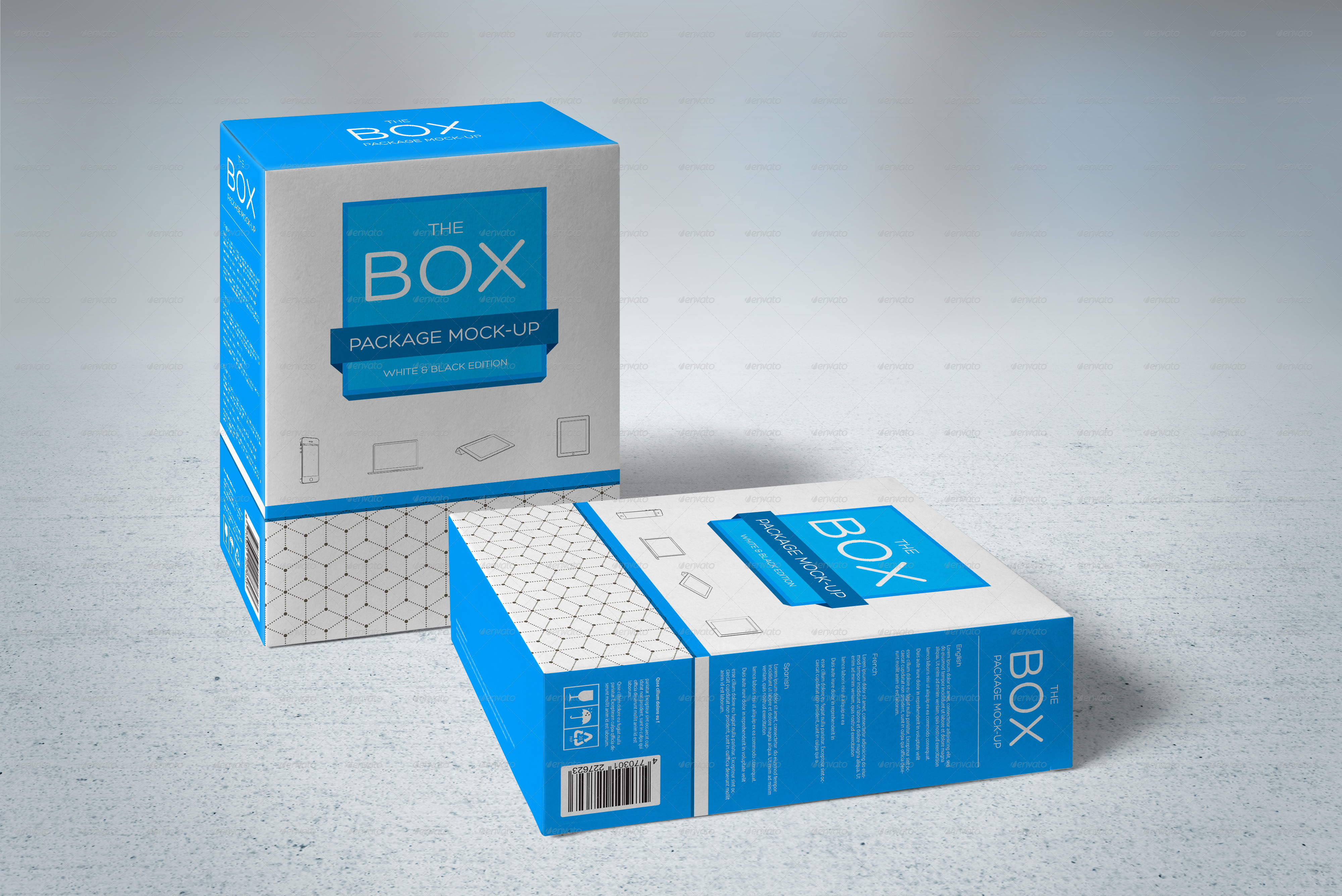Package Mock-Up by Genetic96   GraphicRiver