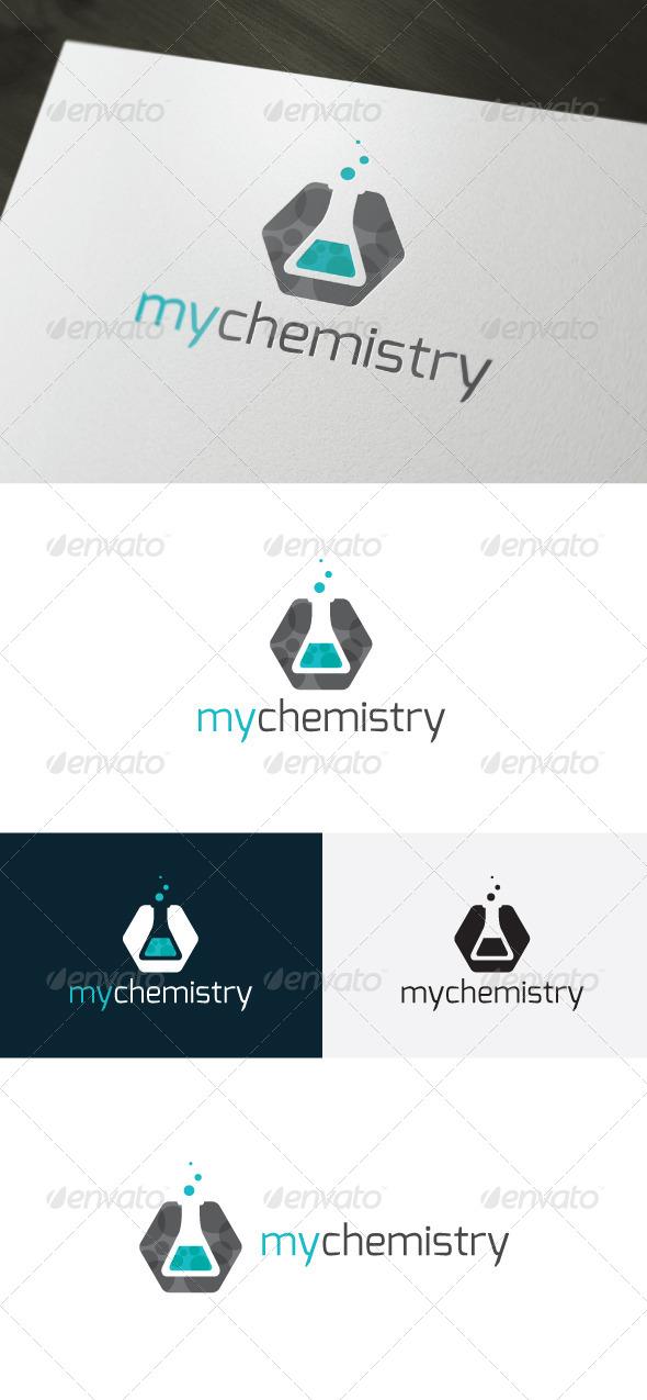 GraphicRiver My Chemistry Logo 6634360