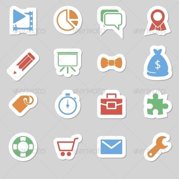 GraphicRiver Seo Icons as Labes Vol 2 6634376