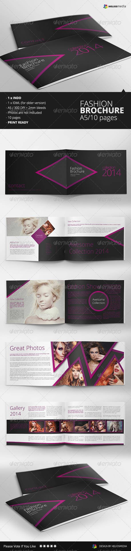 GraphicRiver Fashion A5 Brochure Catalog 6634554
