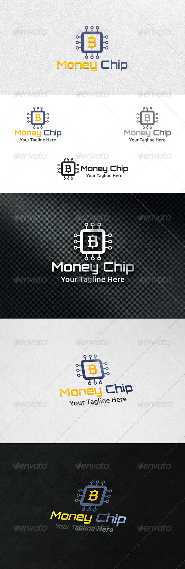 GraphicRiver Money Chip Logo Template 6634555