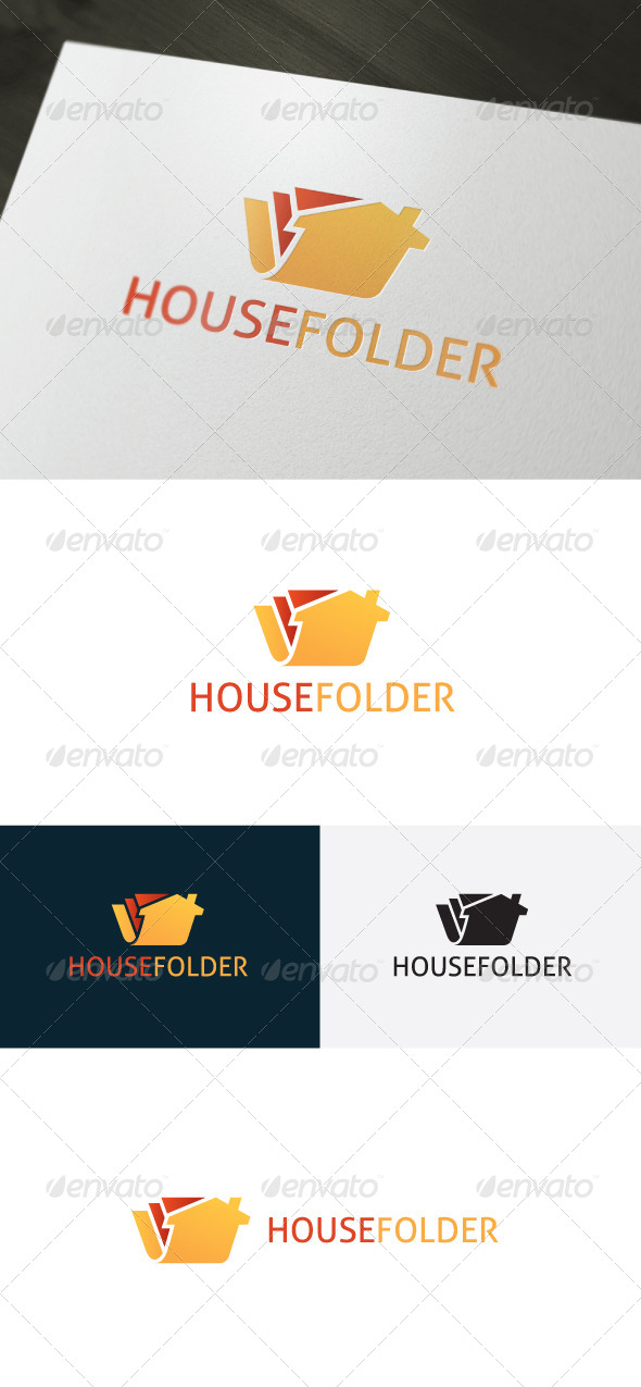 GraphicRiver House Folder Logo 6634636